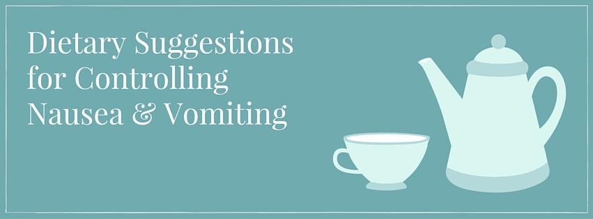 Controlling Nausea & Vomiting
