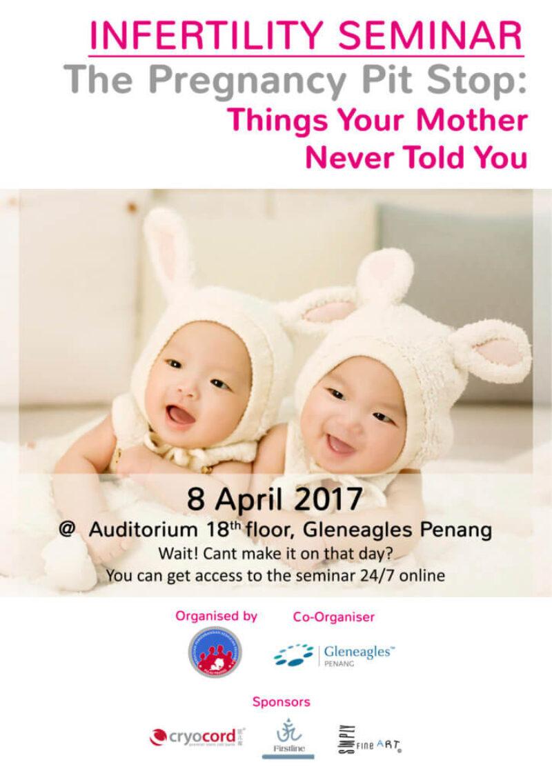 Pregnancy Pit Stop Seminar Brochure