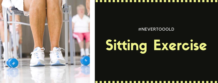 Sitting Exercises for old people