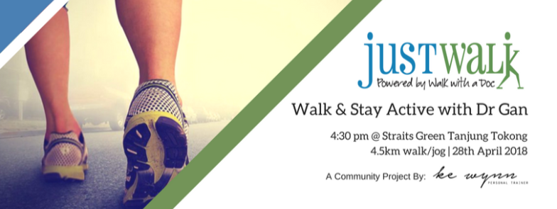 Cover - Just Walk - walk stay active with Dr Gan