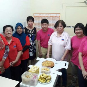 HPV Screening in conjunction with World Health Day 2018 volunteer staff