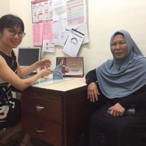HPV Screening in conjunction with World Health Day 2018 patient 5
