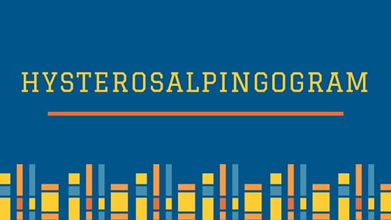Hysterosalpingogram