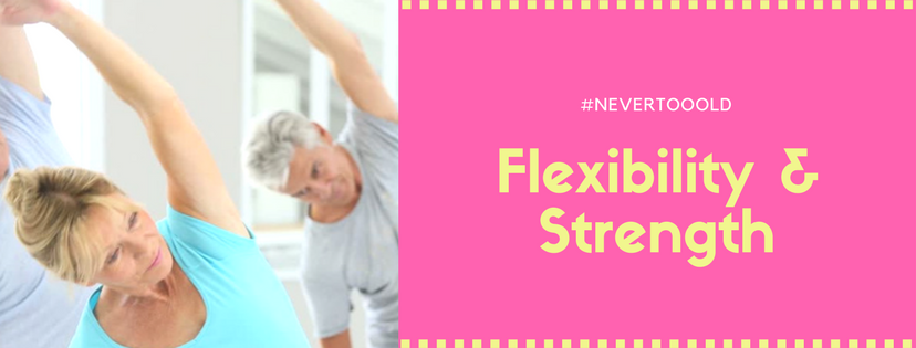 Flexibility & strength exercises for old people