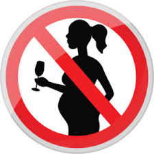 Don't drink alcohol during pregnancy