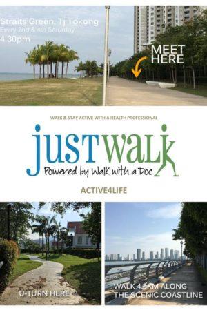 Just Walk - With Dr Gan & PT Ke Wynn meeting point